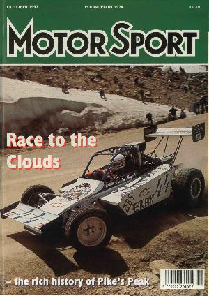 Cover image for October 1992