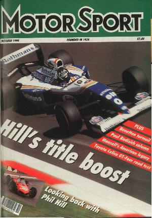 Cover of archive issue October 1994