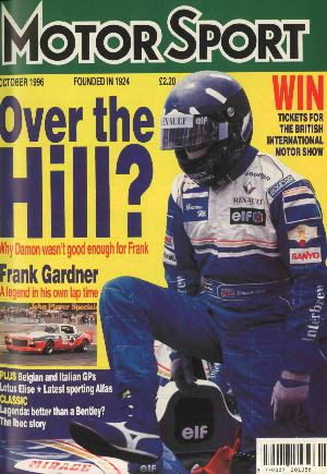 Cover image for October 1996