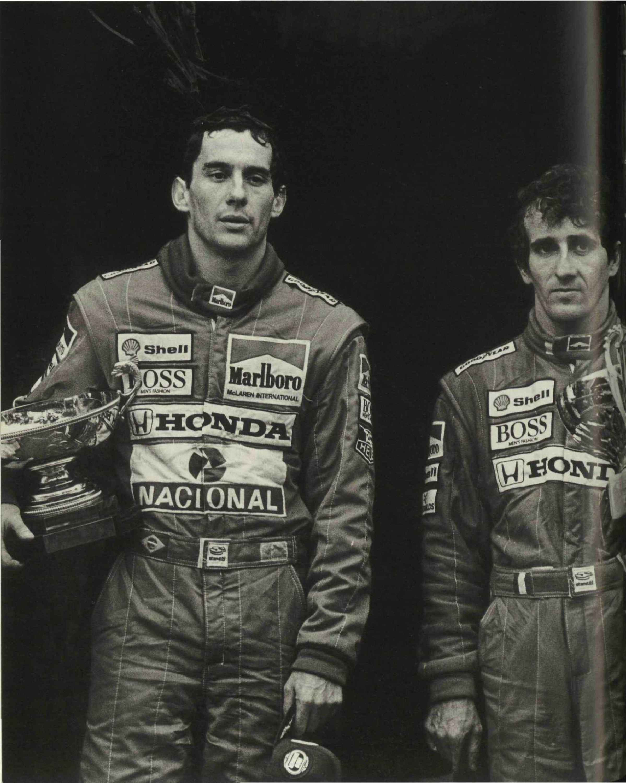 Ayrton Senna by Alain Prost image