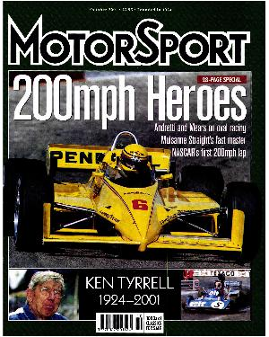 Cover image for October 2001