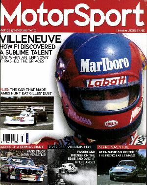 Cover of archive issue October 2005