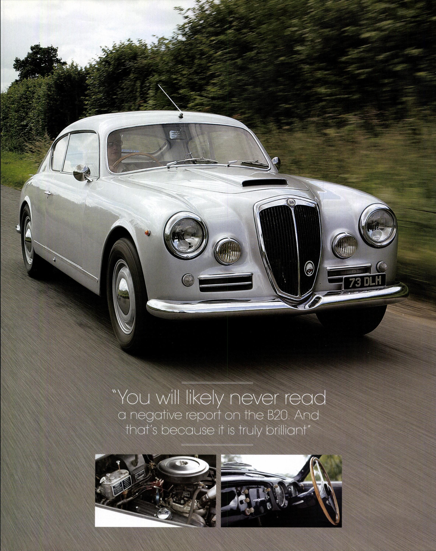 Lancia aurelia motor sport magazine archive close vanachro Choice Image