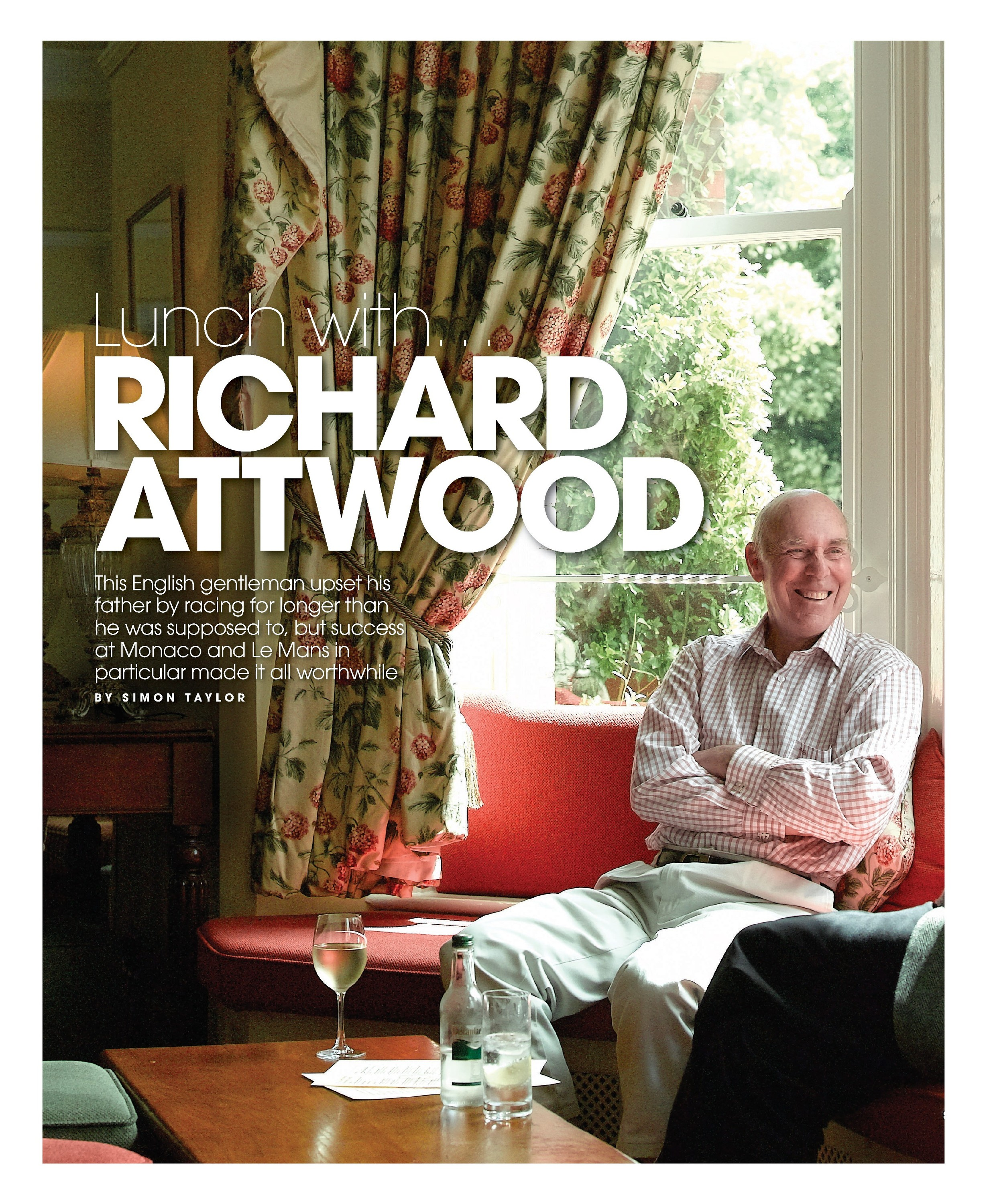 Lunch with... Richard Attwood image