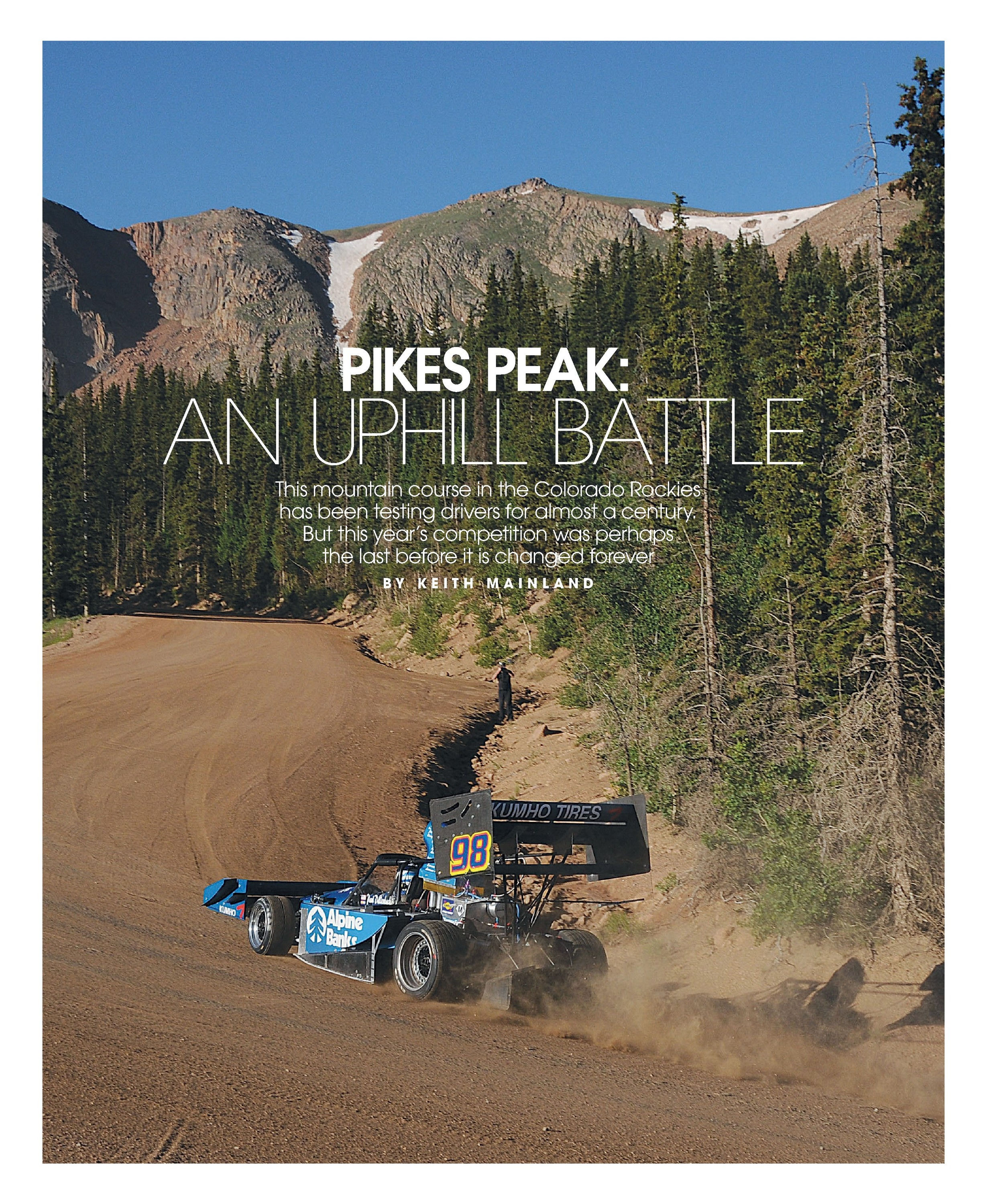 Pikes Peak: An uphill battle image