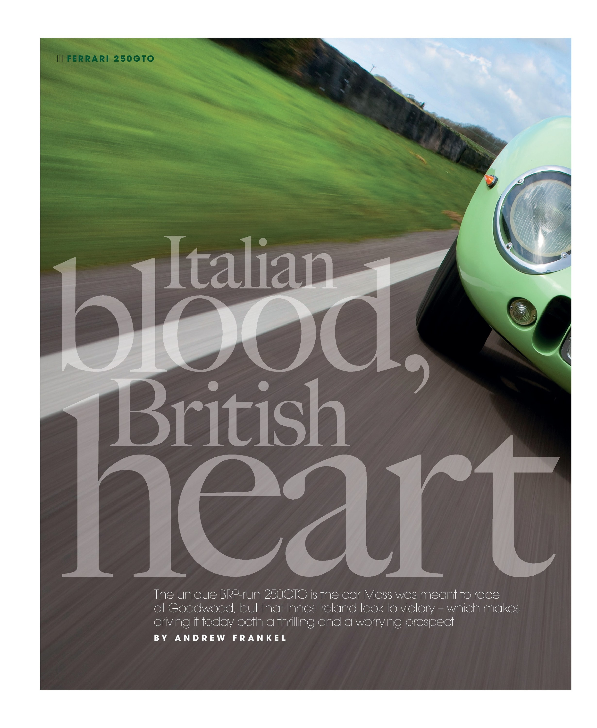 Italian blood, British heart image