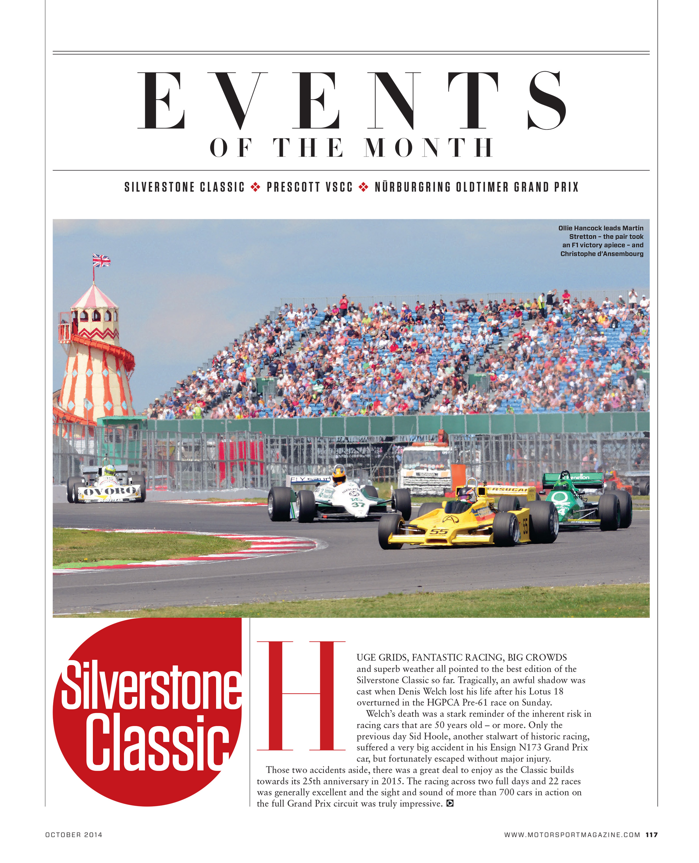 Silverstone Classic | Motor Sport Magazine Archive