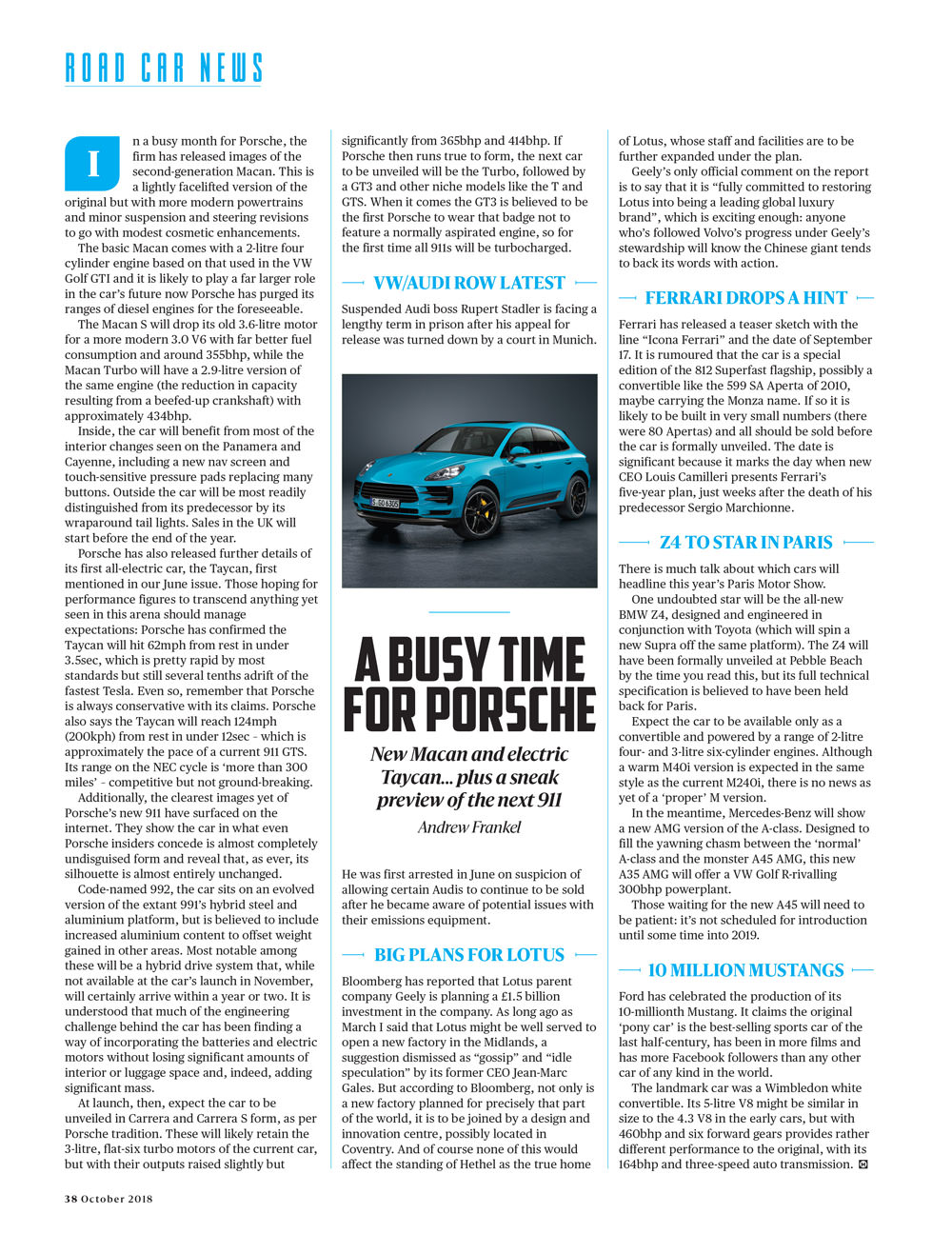 A busy time for Porsche | Motor Sport Magazine Archive