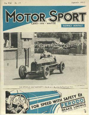 Cover of archive issue September 1932