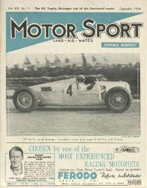 Cover image for September 1936