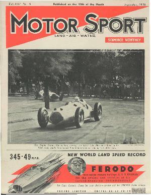 Cover image for September 1938