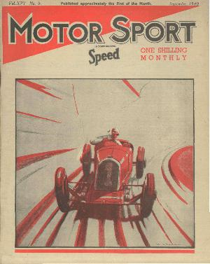 Cover of archive issue September 1940