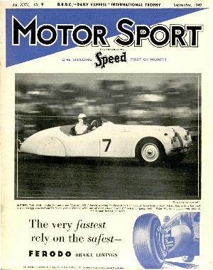 Cover image for September 1949