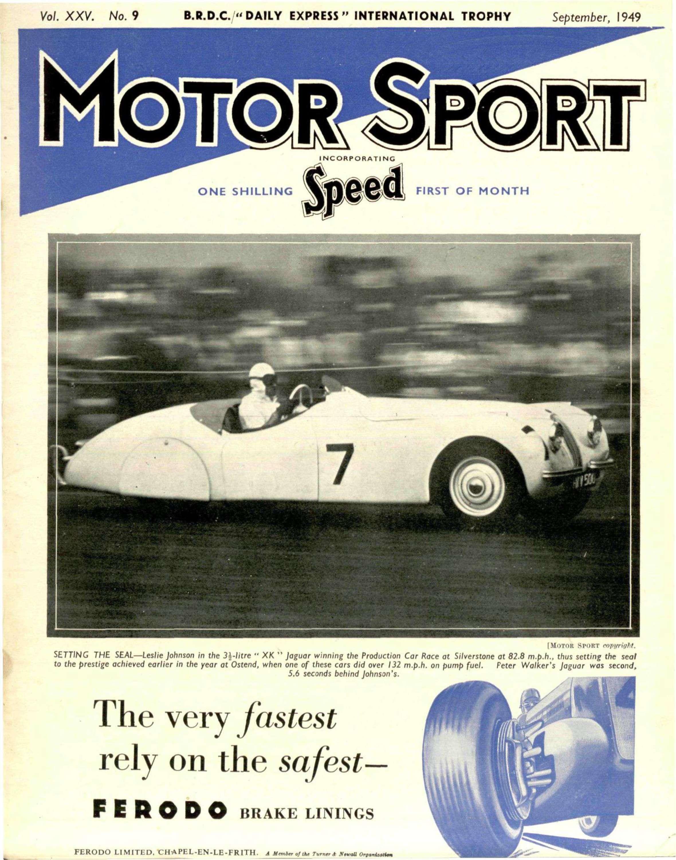 September Motor Sport Magazine - Sports cars 5 letters