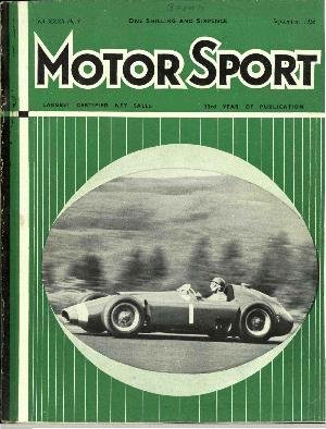 Cover of archive issue September 1956
