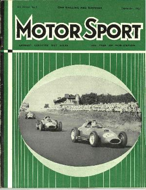Cover of archive issue September 1957