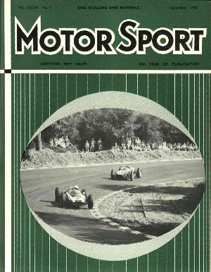 Cover image for September 1960
