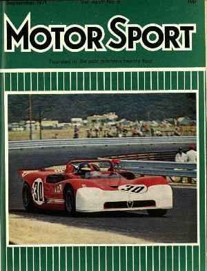 Cover of archive issue September 1971