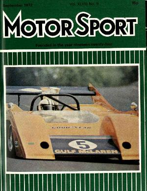 Cover image for September 1972