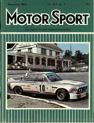 Cover image for September 1973