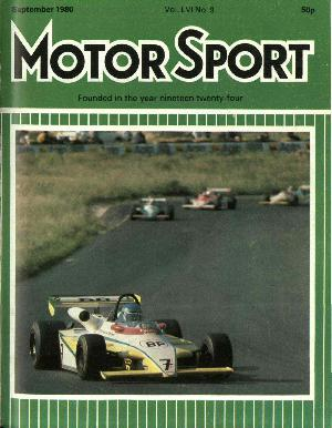 Cover image for September 1980