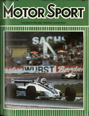 Cover image for September 1981