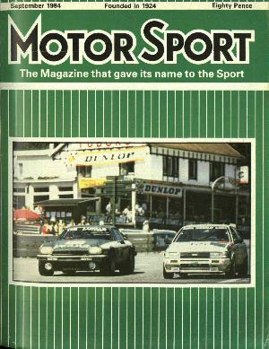 Cover image for September 1984