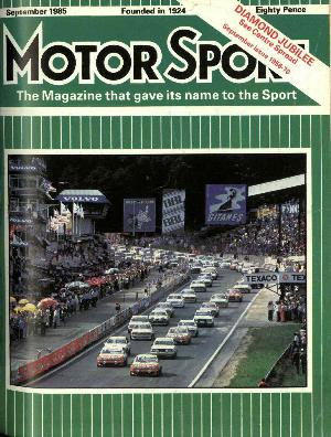 Cover of archive issue September 1985
