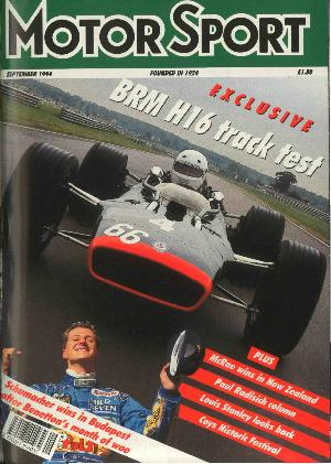 Cover of archive issue September 1994