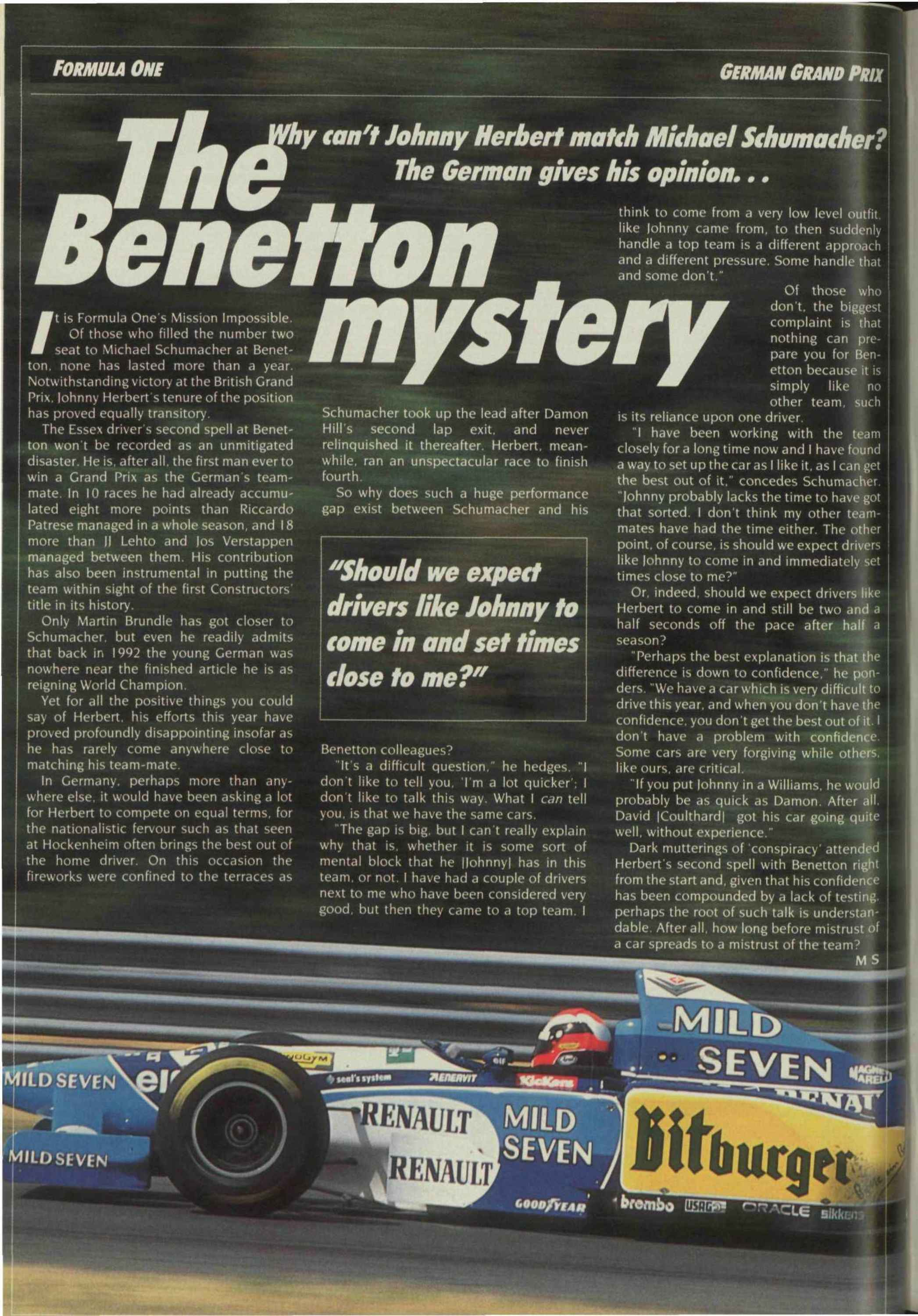 the benetton mystery image