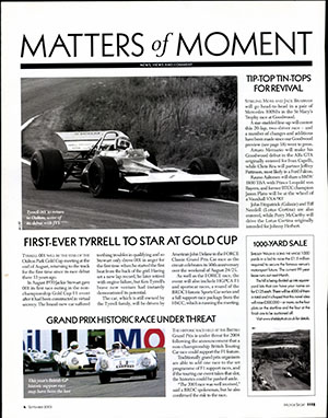 Page 4 of September 2003 archive issue thumbnail