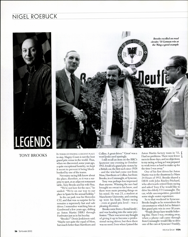 legends tony brooks image