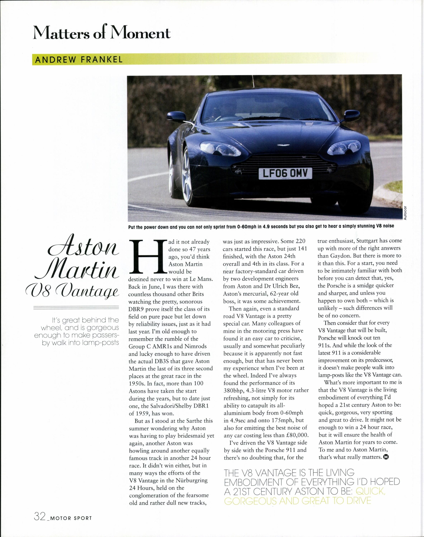 Aston Martin V8 Vantage image