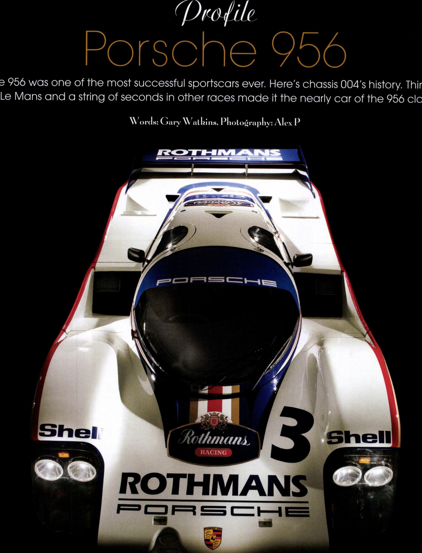 Profile – Porsche 956 image