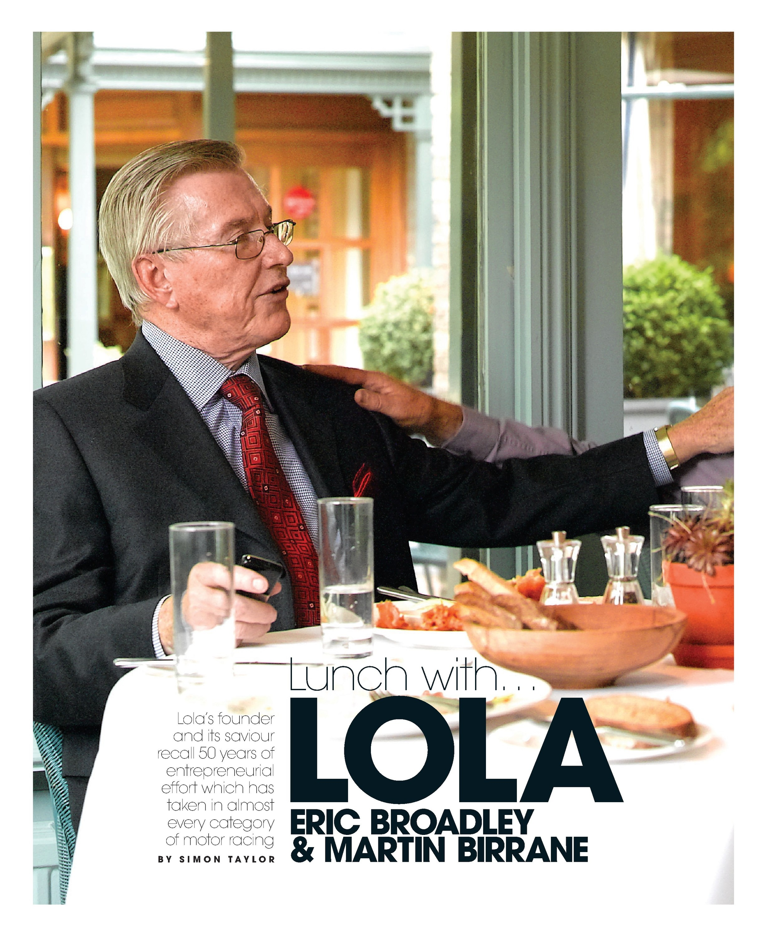 Lunch with... Lola image