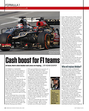 Page 20 of September 2013 archive issue thumbnail