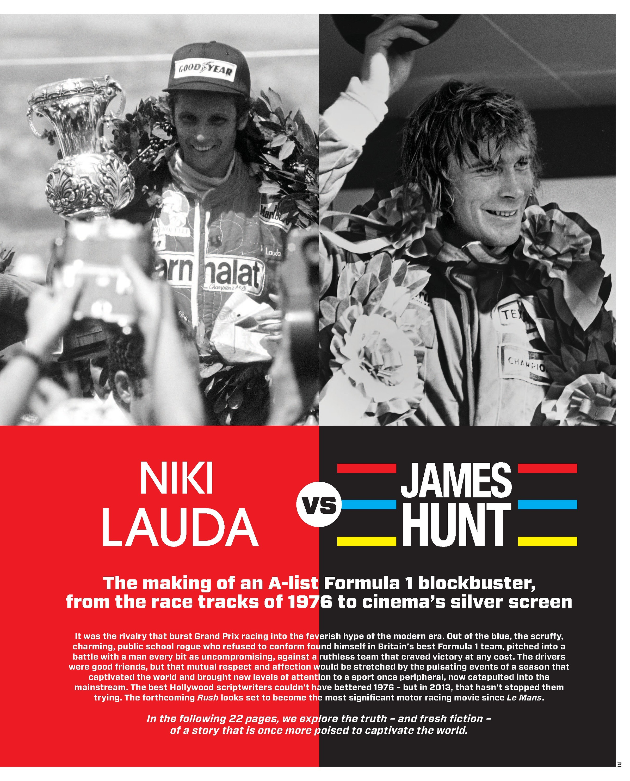 Niki Lauda vs James Hunt image