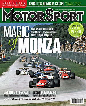 Cover of archive issue September 2015