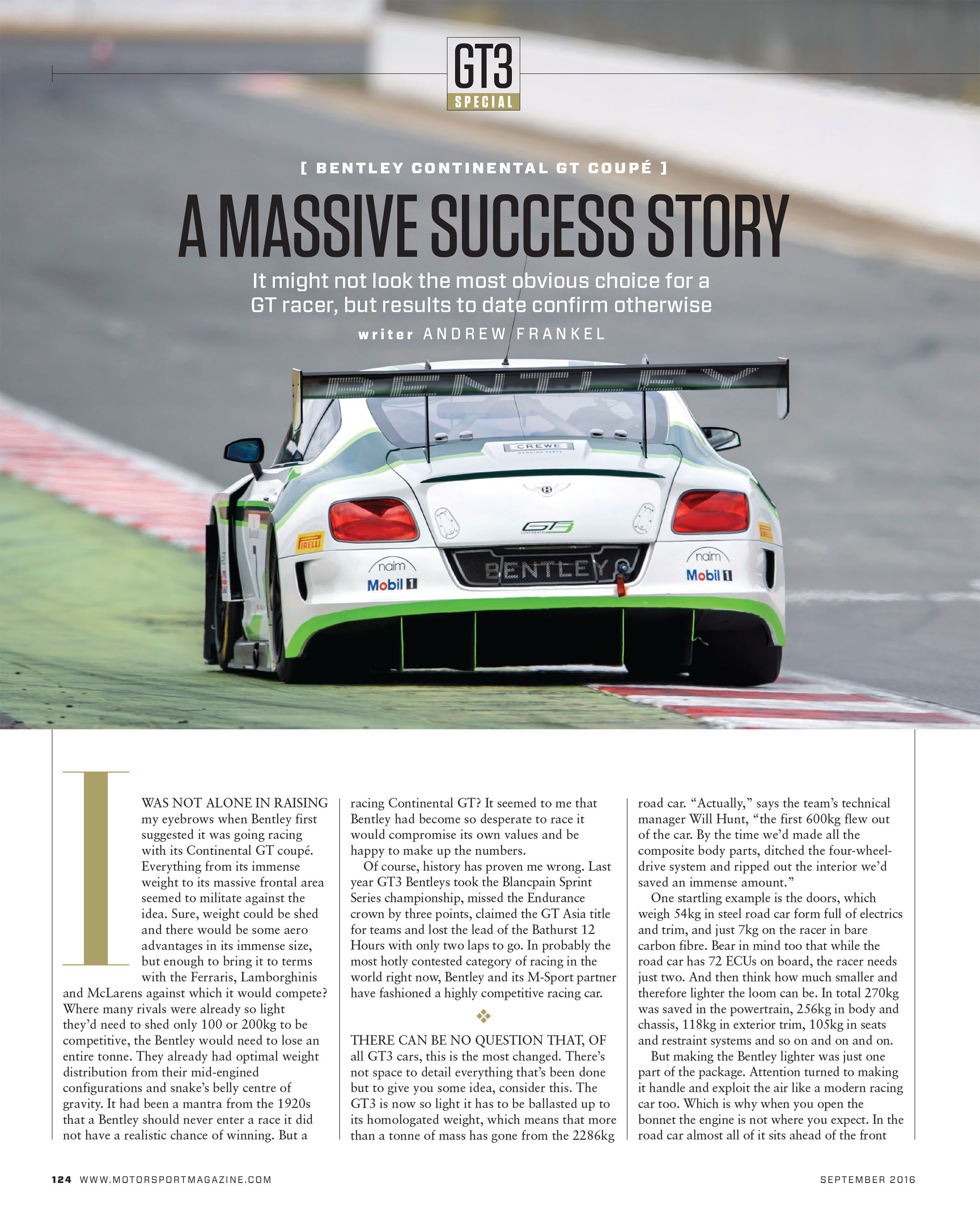 Bentley Continental Gt White Supersport Car For Sale: How To Improve A Race Car
